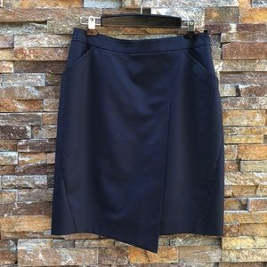 Brooks Brothers Navy Skirt Size 10